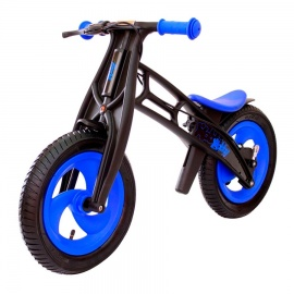 Беговел Hobby Bike RT FLY A черная оса сине-черный