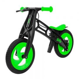 Беговел Hobby Bike RT FLY A черная оса зелено-черный