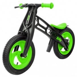 Беговел Hobby Bike RT FLY В черная оса зелено-черный
