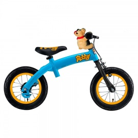 Беговел велосипед Hobby Bike RT original 2 в 1 голубой