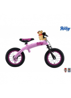 Беговел велосипед Hobby Bike RT original 2 в 1 розовый