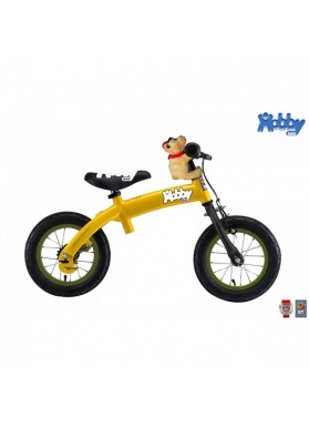 Беговел велосипед Hobby Bike RT original 2 в 1 желтый