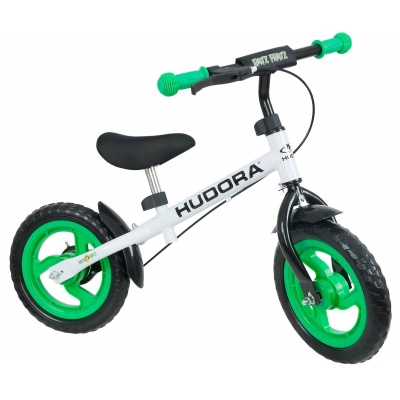 Беговел Hudora Running Bike Ratzfratz зеленый
