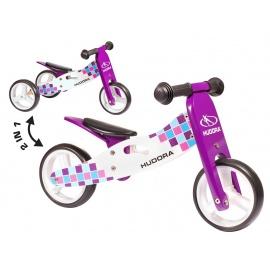 Беговел Hudora Wooden running-tricycle фиолетовый