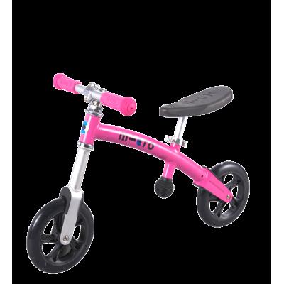 Беговел Micro G-Bike+ Light розовый