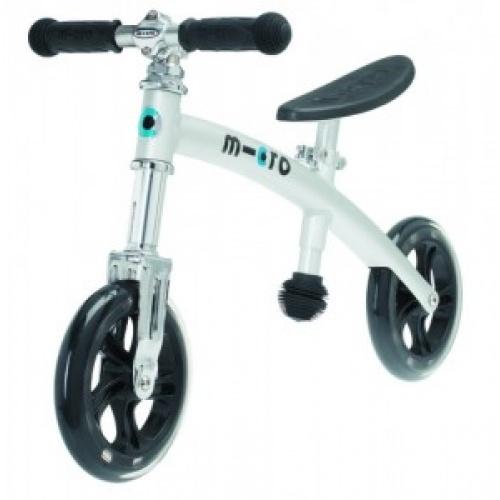 Беговел Micro G-Bike+ Light хромовый