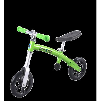 Беговел Micro G-Bike+ Light зеленый