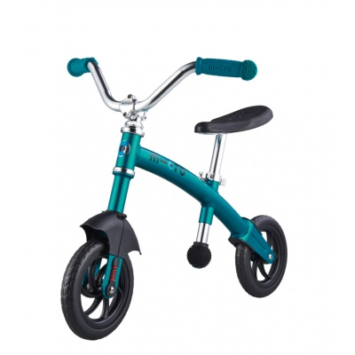 Беговел Micro G-bike Chopper Deluxe аква