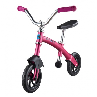 Беговел Micro G-bike Chopper Deluxe розовый