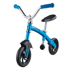 Беговел Micro G-bike Chopper Deluxe синий