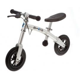 Беговел Micro G-Bike+ Air хромовый