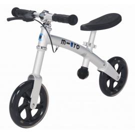 Беговел Micro G-Bike+ хромовый