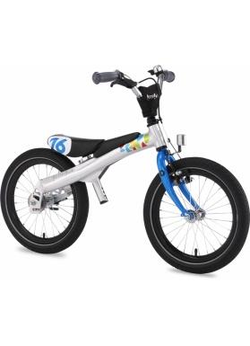 """Беговел велосипед RENNRAD 16"""" синий"""