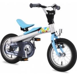 "Беговел велосипед RENNRAD 12"" голубой"
