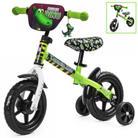 Беговел Small Rider Cosmic Zoo Ballance 2 в 1 зеленый