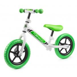 Беговел Small Rider Tornado бело-зеленый