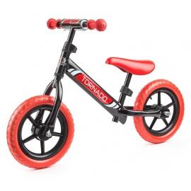 Беговел Small Rider Tornado черно-красный