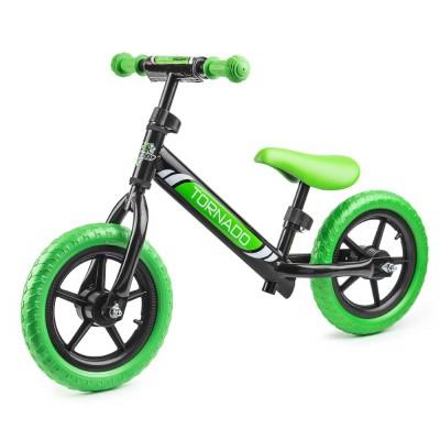 Беговел Small Rider Tornado черно-зеленый
