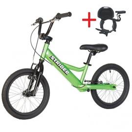 """Беговел Strider 16"""" Sport зеленый"""