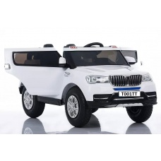 Электромобиль BMW T001TT белый с надувными колесами