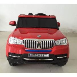 Электромобиль BMW T001TT красный с надувными колесами