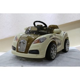 Электромобиль Bugatti HL 938 коричневый с дистанционным управлением