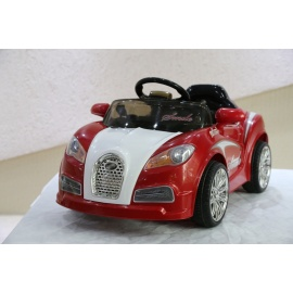 Электромобиль Bugatti HL 938 красный с дистанционным управлением
