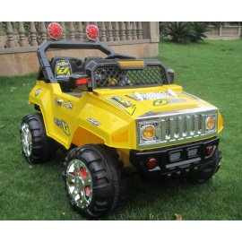 Электромобиль HUMMER E444KX желтый