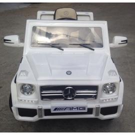 Электромобиль Mercedes-Benz GL65 белый лицензия