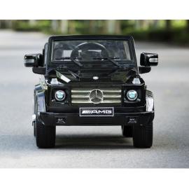 Электромобиль Mercedes-Benz GL65 черный лицензия
