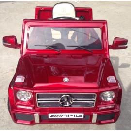 Электромобиль Mercedes-Benz GL65 красный лицензия