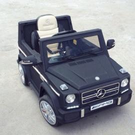 Электромобиль Mercedes-Benz GL65 черный матовый лицензия