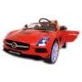 Электромобиль Mercedes-Benz SLS A333AA VIP красный на резиновых колесах
