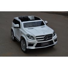 Электромобиль Mercedes-Benz GL63 AMG белый лицензия