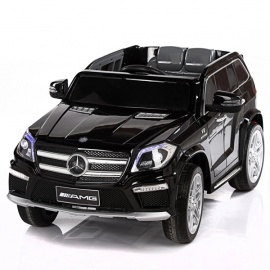 Электромобиль Mercedes-Benz GL63 AMG черный лицензия