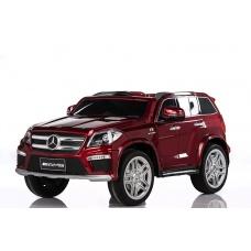 Электромобиль Mercedes-Benz GL63 AMG красный лицензия