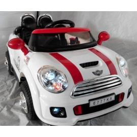 Электромобиль Mini Cooper E777KX VIP белый
