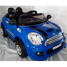 Электромобиль Mini Cooper E777KX VIP синий