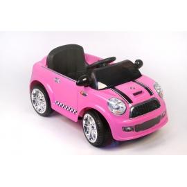 Электромобиль Mini Cooper T003TT розовый