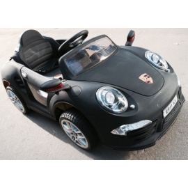 Электромобиль PORSCHE E911KX VIP черный