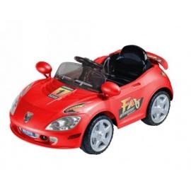 Электромобиль Porshe E222KX красный