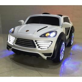 Электромобиль PORSCHE Cayenne Turbo О001ОО белый