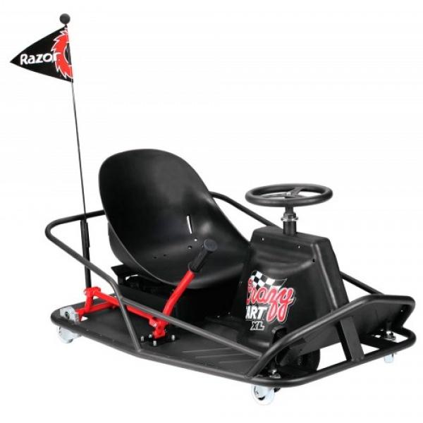 Электро дрифт-карт Razor Crazy Cart XL для взрослых