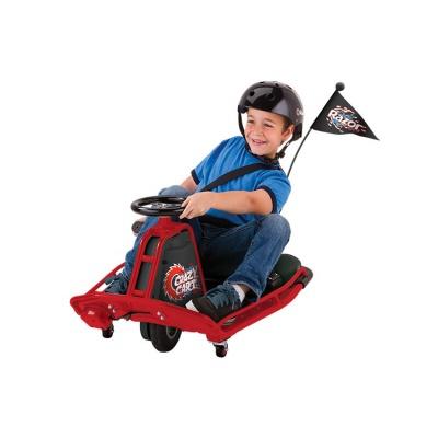 Электро дрифт-карт Razor Crazy Cart красный