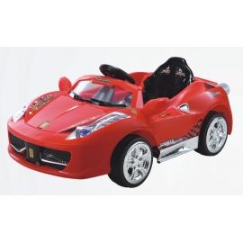 Электромобиль Ferrari 8888 красный с дистанционным управлением