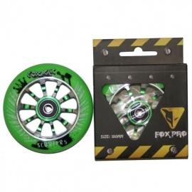 Колесо для самоката FOX 100 мм (зеленый)