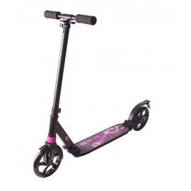 Самокат Explore Buran черно-фиолетовый