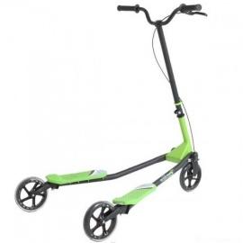 Инерционный самокат Fliker F5 зеленый