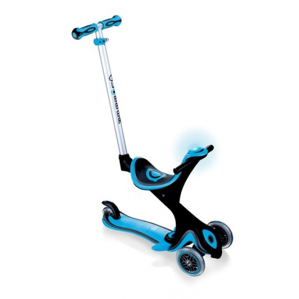 Самокат Globber Evo 5 in 1 Comfort Play со светящимися колесами