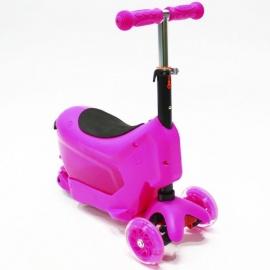Самокат Hubster Comfort розовый
